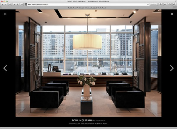 La lightbox per la visualizzazione full-screen delle immagini